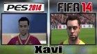 Pes 2014 Fifa 2014 Yüz Karşılaştırmaları