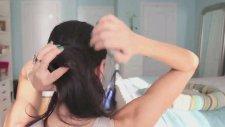 Saç Topuz Süngeri İle Düşük Topuz Yapımı