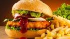 Sebzeli Tavuk Burger Tarifi