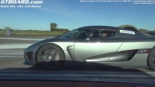 Bugatti Veyron vs Agera R Koenigsegg Kapışması