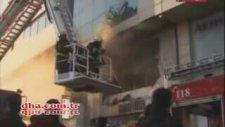Muhalif Televizyon Kanalını Böyle Ateşe Verdiler!