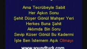 Aykut İlter - Öğrendim Kareoke Lyrics (Eski Defter Albümü)