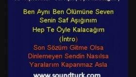 Aykut İlter - Saf Aşık (Kareoke Lyrics Eski Defter Albümü)