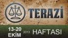 Terazi Haftalık Burç Yorumu- 13-20 Ekim 2013- Astrolog Demet Baltacı