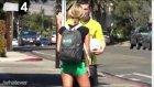 Lewandowski, Kaliforniya Sokaklarından Çapkınlık Peşinde!
