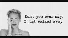 Miley Cyrus - Wrecking Ball Lyrics