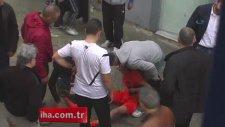 Trabzon'da amatör küme maçında olay