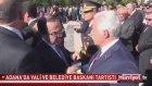 Adana'da Vali Coş, Belediye Başkanı Zihni Aldırmaz'ı Azarladı.