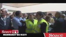 Marmaray'da Sözcü'ye Saldırı!