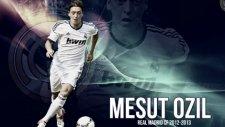 Mesut Özil'in Akıl Dolu Topuk Pasları