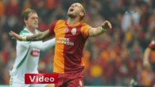 Galatasaray 2-1 Torku Konyaspor (Maç Özeti)