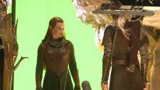 Hobbit Smaug'un Çorak Toprakları Kamera Arkası
