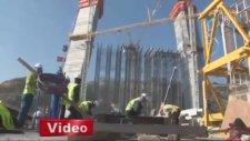 3 Köprünün İnşaatında 1500 Kişilik Seferberlik