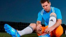 Lionel Messi Yeni Kramponu İle Tanıştı