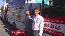 Afyonkarahisar'da Otobüs Şoförlerinden Atatürk Hassasiyeti