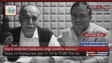 Osman Ünlü Hoca - Teşrik Tekbirleri Ne Zaman Başlıyor?