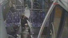 Metrobüste Şok Cinayet CCTV Kameralarında