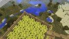 Minecraft Gökte Ev Yapımı