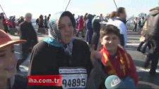Halk koşusu, Boğaz Köprüsü'nü salladı