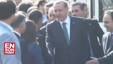 Emine Erdoğan Diyarbakır'da Poşu Taktı