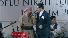 Erdoğan ve Barzani nikah şahidi oldu