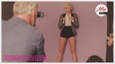 Miley Cyrus Cosmopolitan Çekimleri Kamera Arkası (Türkçe Altyazılı)