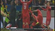 İsveç 2-3 Portekiz (Maç Özeti)