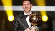 Lionel Messi Altın Ayakkabı'nın Sahibi