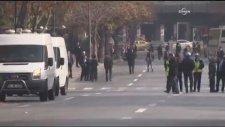 Başbakanlık önünde canlı bomba! İşte olay yerinden ilk görüntüler!
