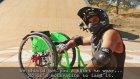 Engelli Gencin Tekerlekli Sandalye Şovu
