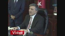 Cumhurbaşkanı Abdullah Gül'den 'yeni anayasa ve Mısır' açıklaması
