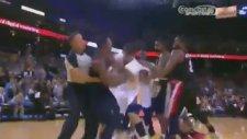 NBA'de Şok Kavga