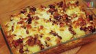 Fırında Meksika Fasulyeli Patates
