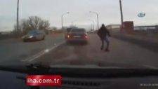 Rusya'da meydana gelen kazadan böyle kurtuldu