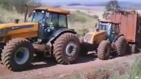 4x4 Dev Traktör'ün Batışı