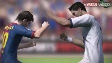 Messi'yle Ronaldo Tekme Tokat Kavga Ederse