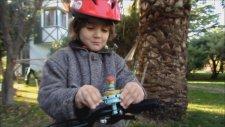 Baba Oğul Bisiklet Yarışında Kapıştık.