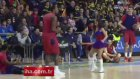 ABD'li basketbolcudan dans şov