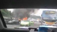 Milyon Dolarlık Kaza (3 Lamborghini Birbirine Girdi)