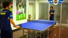 Salih Uçan ve Alper Potuk'un Tenis Kapışması!