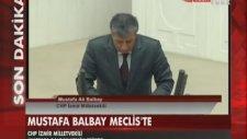 Balbay Meclis'te Yemin Etti