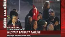 Bülent Arınç'dan Mustafa Balbay Açıklaması