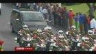 Mandela'nın naaşı katafalka konuldu