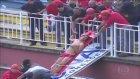 Futbol Maçında Kavga Çıktı Sahaya Helikopter İndi