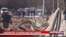 Gaziantep'te Sanayi Bölgesinde Patlama