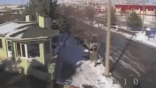 Gaziantep'teki Patlama anı kamerada!