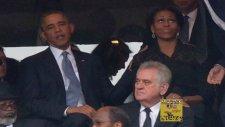 Michelle Obama'nın Eşini Kıskanıp Kezbana Bağlaması