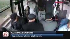 Halk Otobüsünde Yan Kesici Kameraya Yakalanıyor