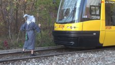 Tren Makinistine Gandalf Şakası