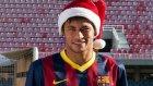 Barcelonalı Futbolculardan Yeni Yıl Kutlaması
